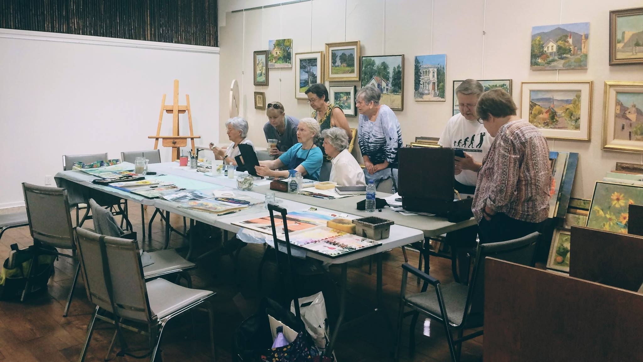 Stockton Art League Tuesday Open Studio